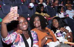 Guests at the EbonyLife International Women's Day celebration