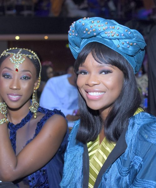 Beverly Naya and Zainab Balogun
