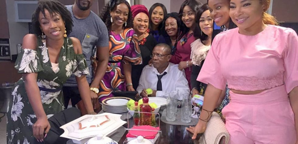 Filming wraps up for EbonyLife production, Chief Daddy