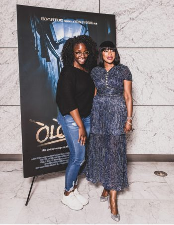 Guest at The EbonyLife Films and Creative Artists Agency Co Host Screening of Oloture, in LA