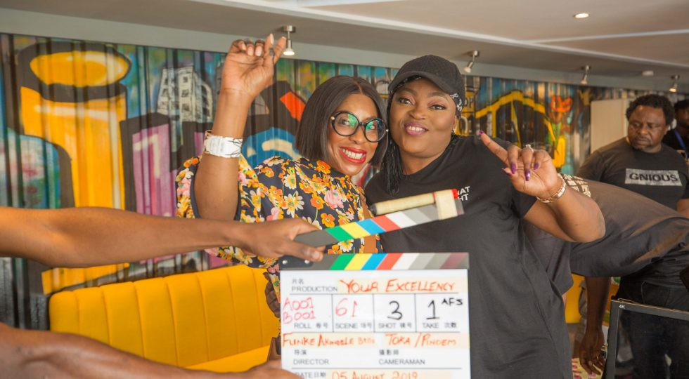 EbonyLife partners with Funke Akindele to direct and star in its latest December blockbuster, Your Excellency