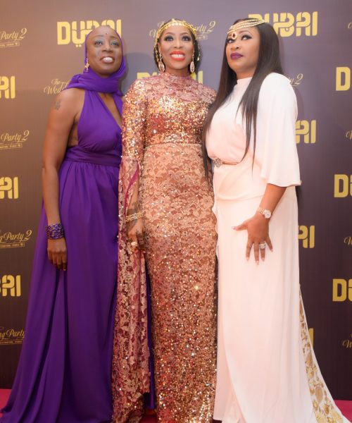 Mo Abudu and guests at TWP2 premiere