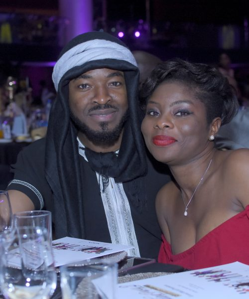 O.C. Ukeje and guest