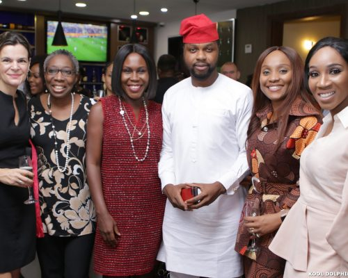 Oloture Lagos Private Screening With The British Deputy High Commissioner, Ms. Laure Beaufils