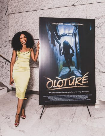 Sharon Ooja, Lead Actress, Oloture