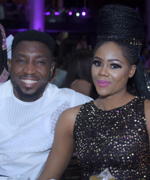 Timi Dakolo and guest at TWP2 premiere