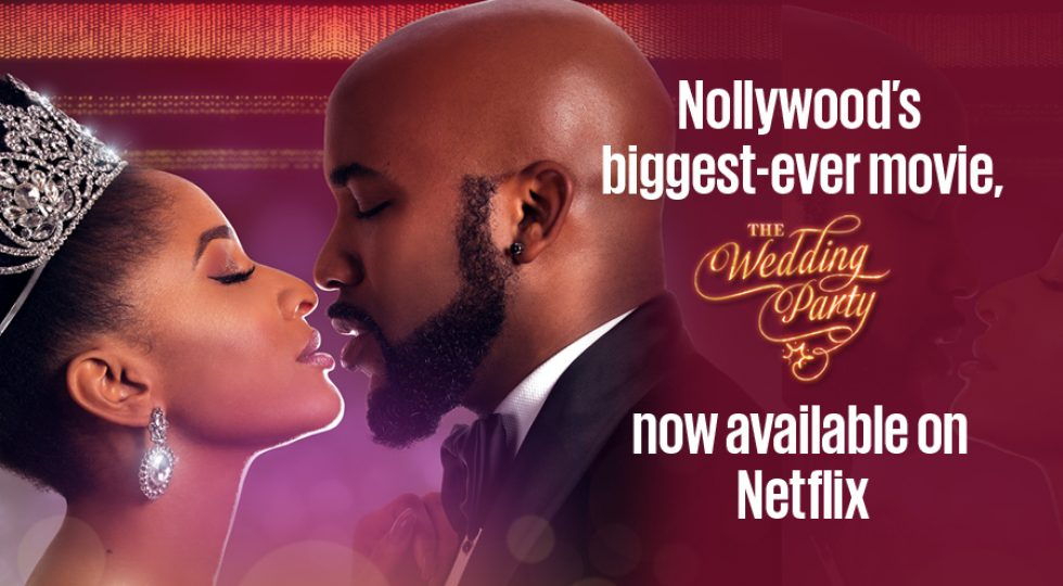 Nollywood's biggest-ever movie, The Wedding Party, now available on Netflix