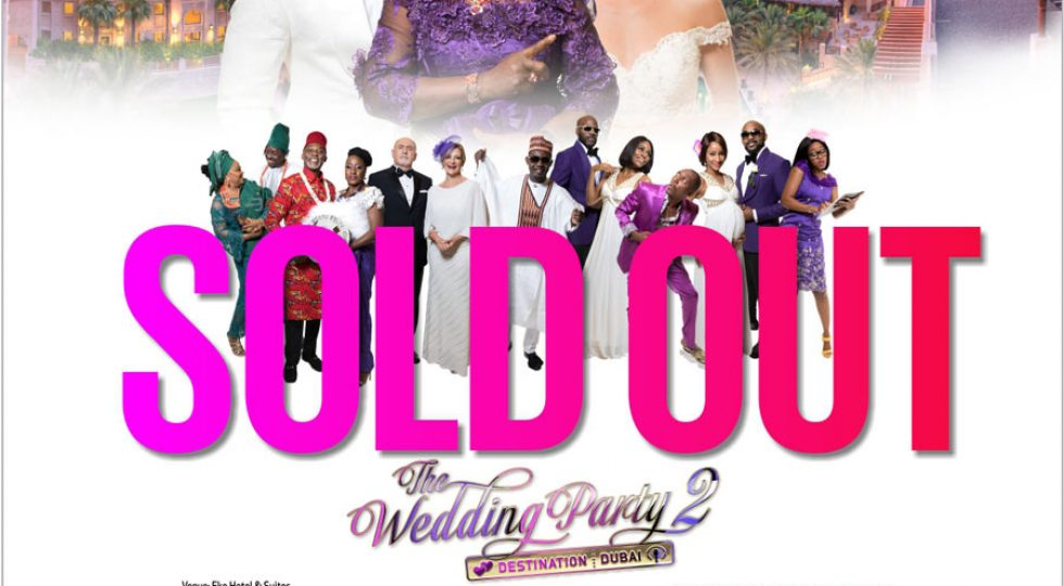World premiere of Wedding Party 2 sold out 4 weeks ahead of schedule